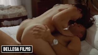 Bellesa Films – perky Bubble butt babe Aidra Fox rides cock till she cums